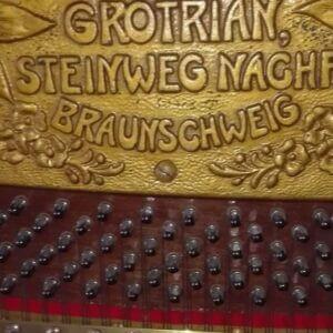 Grotrian Klavierplatte